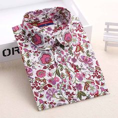 Floral Cotton Printed Blouses