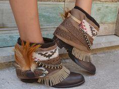 Mis botines de LAYER BOOTS boots botas boho chic style fashion summer