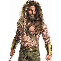 Rubies Costume Co Mens Batman V Superman Dawn of Justice Aquaman Beard and Wig