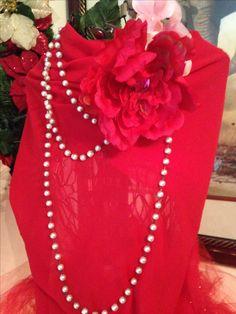Dress form Christmas tree! #InHeartDesign