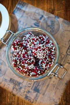 Juliga chokladbollar med glögg och chili Christmas Goodies, Christmas Candy, All Things Christmas, Christmas 2019, Christmas Diy, Lollipop Candy, Homemade Sweets, Candy Cookies, Xmas Food