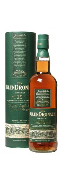 Glendronach Single Malt Revival Oloroso Sherry Cask 15J
