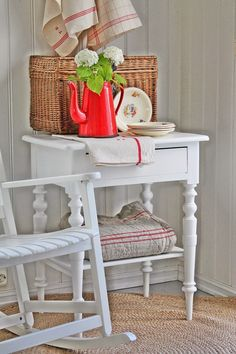 Red and White Cottage | VIBEKE DESIGN