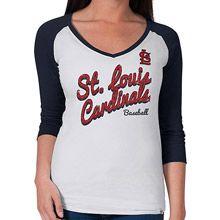 St. Louis Cardinals Women's Batter Up Baseball T-Shirt by '47 Brand - MLB.com Shop