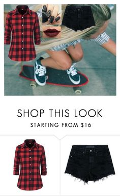 """Procrastination"" by miaagustus ❤ liked on Polyvore featuring Alexander Wang and LASplash"