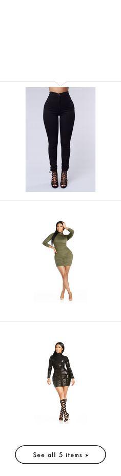 """"" by melanin-queen-842 ❤ liked on Polyvore featuring dresses, mini dress, short dresses, short velvet dress, olive dress, white mini dress, stretchy dresses, panel dress, leather dress and white bodycon dress"