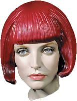 Morris Costumes Women's Short Beebop Rubber Latex Wig. DU1360