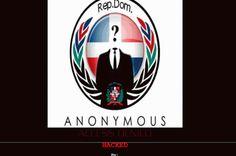 Anonymous ataca también la web de la CAASD - Anonymous, también, web de la CAASD