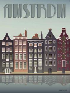 Amsterdam » Vissevasse » Kunst » Plakat