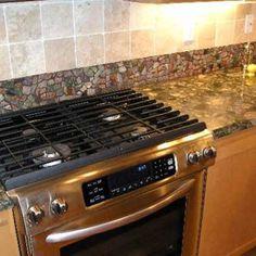 Backsplashes Amp Tiles In The Home On Pinterest Mosaic
