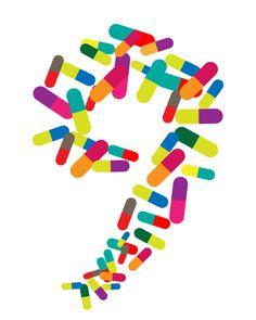 Logo design for the 9th Congress of Andalusian pharmacy  #Logo Design  by Daniel Rivero Serradell