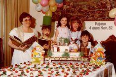 Resultado de imagem para aniversário nos anos 80