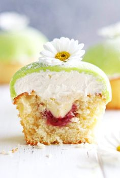 Prinsesscupcakes - My Kitchen Stories Baking Recipes, Cake Recipes, Dessert Recipes, Yummy Treats, Sweet Treats, Yummy Food, British Baking, Yummy Cupcakes, 12 Cupcakes