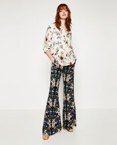 PRINTED BLOUSE-Blouses-TOPS-WOMAN | ZARA United States