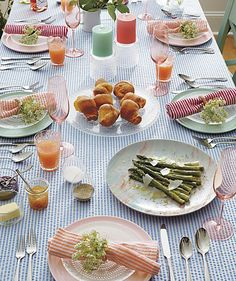 Tons pastel | A mesa com charme