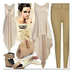 """Yoins XXIX/22"" by s-o-polyvore ❤ liked on Polyvore featuring Emma Watson, yoins, yoinscollection and loveyoins"