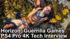 [video] Horizon Zero Dawn PS4 PRO 4K tech interview #Playstation4 #PS4 #Sony #videogames #playstation #gamer #games #gaming