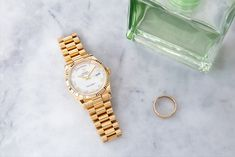 Highly exclusive and respected by presidents and influential men throughout history. The Rolex Day-Date is only available in gold or platinum, partly set with gemstones and diamonds or elaborate dials. Price Model, Rolex Models, Rolex Day Date, Luxury Watch Brands, Rolex Watches, Bracelet Watch, Presidents, Diamonds, Dating