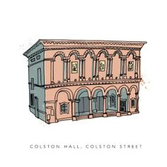 Colston Hall, Tim Sutcliffe's Bristol building illustrations