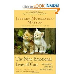 I loved readying 'The Nine Emotional Lives of Cats' I had to read it twice!