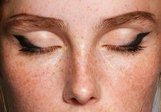make-up at Prada S/S 2015 at MFW