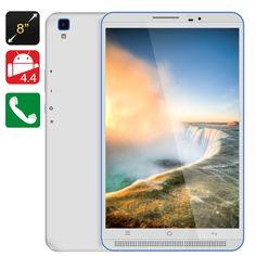 8 Inch 3G Tablet PC - HD Screen, Quad Core CPU, 1GB RAM, Dual SIM Slots, OTG, Android 4.4