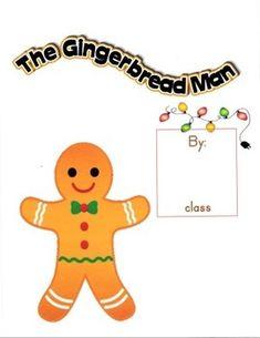 Gingerbread Man Class Book by NJF | Teachers Pay Teachers
