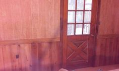 Sanded old paneling, rough cut boards....0$. Remodel on a budget.