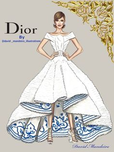 Ideas Fashion Sketches Dior Drawings - Ideas Fashion Sketches Dior Drawings You are in the right place about fashion drawing Here we o - Fashion Sketchbook, Fashion Illustration Sketches, Illustration Mode, Trendy Fashion, Fashion Art, Fashion Show, Fashion Vintage, Dior Fashion, Vintage Fashion Sketches