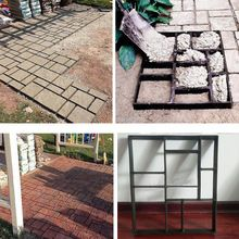 Pathmate Paving Cement Brick Molds The Stone Road Auxiliary Tools For Garden Decor Concrete