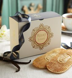 A Taste of Lille ~ Méert's Legendary Waffles (French Twist D. Cute Packaging, Packaging Design, Madagascar Culture, Marketing Merchandise, Waffle Cookies, Sandwiches, Madagascar Vanilla, Moving To Paris, Recipe Sites
