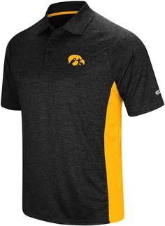 lowest price 75a33 d2fa8 Colosseum Men s Iowa Hawkeyes Wedge Polo