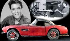 El BMW 507 original de Elvis Presley estuvo en galería alemana (FOTOS)
