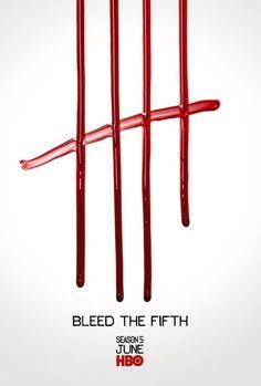 Cartel temporada 5 de True Blood.
