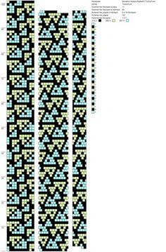 Мозаика Эшера Рыбки01 (11, 76, 141 и тд) ToskaTusk (11) http://crochetbeadpaint.info/raports/1811185