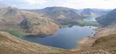 Crummock Water has unparalleled views. At 2.5 miles long, it is a clear, rocky bottomed lake flanked by steep fellsides of Skiddaw slate.