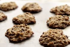 #Oatmeal Raisin #Cookies   WholeYum!