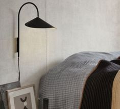 Discover the Arum wall lamp designed by the talented designer Trine Andersen and edited by the Danish company Ferm Living. Luminaire Design, Lamp Design, Modern Lighting, Lighting Design, Unique Table Lamps, Perriand, Metal Arch, Modern Shop, Wall Brackets