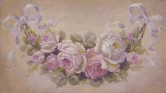artist christie repasy | French Rose Swag