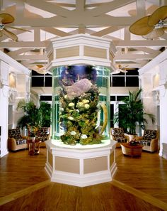 Beautiful Aquarium In Living Room Design Ideas Interior Design