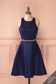 She wanted to stop time and stay there forever. Blue navy dress - Valentine's day - From Boutique 1861 www.1861.ca