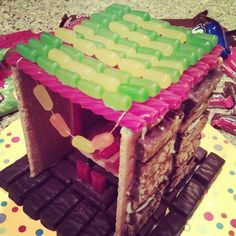 Sukkah out of Candy