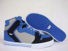 Supra Vaider Blue - Black - Grey supras shoes