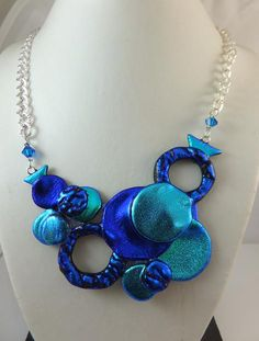 Designed & made in Dichroic Glass by Cheryl Smith