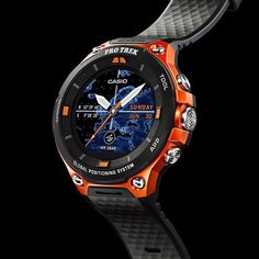@casio.watches, maker of the ultra-tough @gshock_ua, introduces the second generation Protrek Smart Outdoor Watch, a smartwatch for the great outdoors that's tested to US military standards - details via link in bio