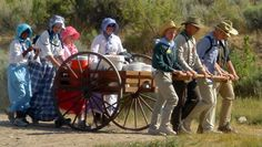 Mormon Handcart Companies | We particularly enjoyed our trip to the Handcart Visitor Center. Next ...