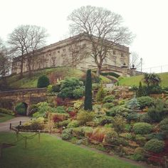 Nottingham Castle in Nottingham, Nottingham