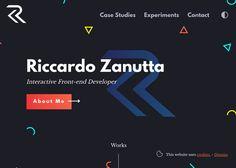 Riccardo Zanutta - Interactive Frontend Developer   CSS Website
