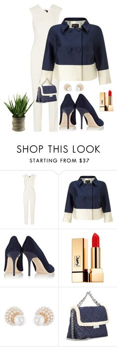 """""""Office Fashion"""" by kotnourka ❤ liked on Polyvore featuring Roland Mouret, Jimmy Choo, Yves Saint Laurent, Kenneth Jay Lane and STELLA McCARTNEY"""