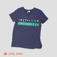 ¿Tienes algún evento con tu grupo de Enfermeros o simplemente quieres tener tu propia camiseta personalizada? Pues Jolly Joker es el lugar correcto para que diseñes y ordenes tu increíble camiseta de enfermería, Es super fácil jollyjoker.co